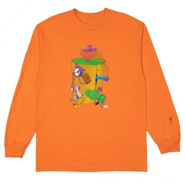 Camiseta Manga Longa Carrots x Looney Tunes - Machine Laranja