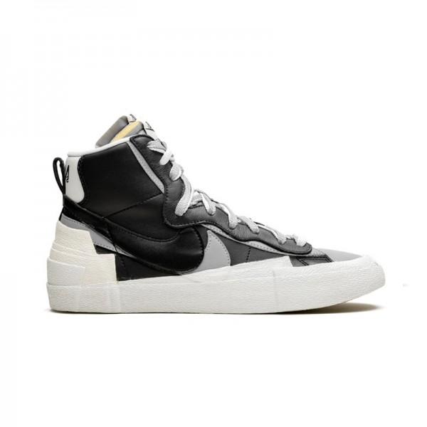 Nike x Sacai Blazer Mid Preto