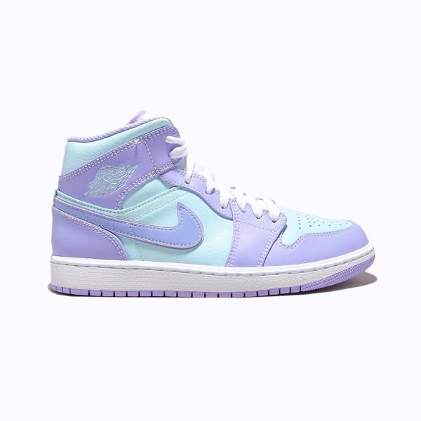 """Nike Air Jordan 1 Mid """"Purple Aqua"""""""
