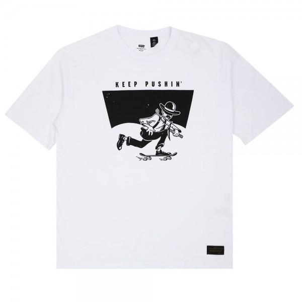 Camisa Levi's Skateboarding - Graphic Collab Branca
