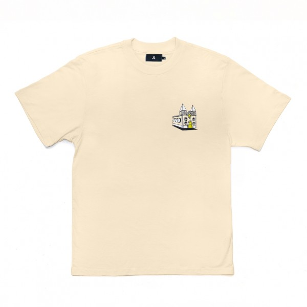 Camiseta à x UFO Amarela