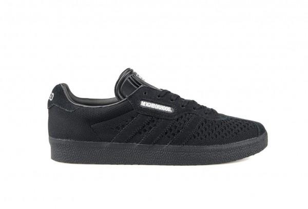 Tênis Adidas x Neighborhood - Super Gazelle Preto