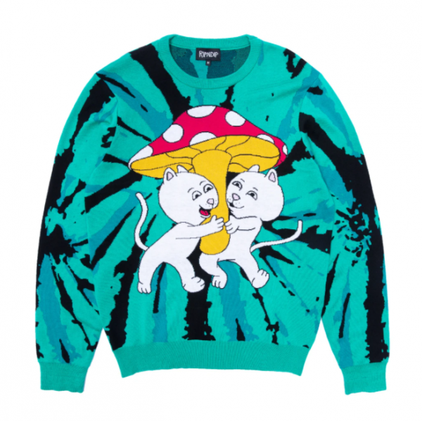 "Suéter Ripndip ""Sharing Is Caring"" Verde Água"