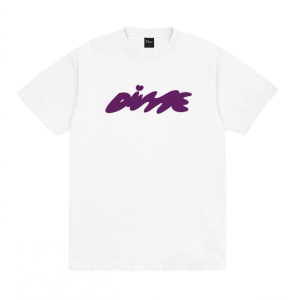"Camiseta Dime ""Bubbly"" Branca"