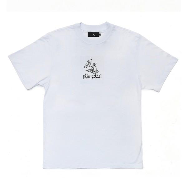 """Camiseta à """"Salamaleico"""" Branca"""