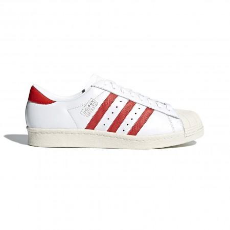 """Adidas Superstar OG """"White/Red"""""""