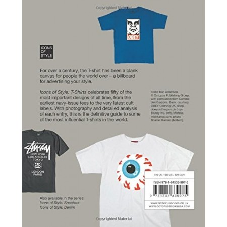 Livro Icons of Style: T-Shirts