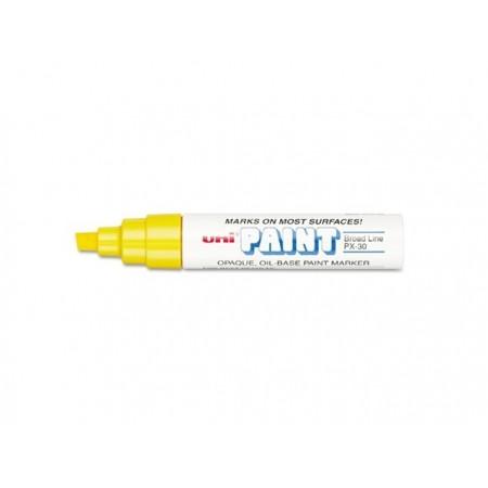 Marcador Uni Paint PX-30 - Amarelo