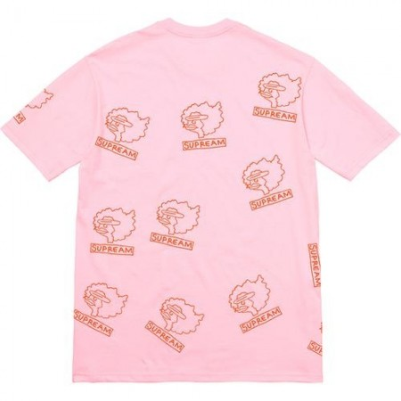 Camiseta Supreme - Supreme Gonz Heads PInk