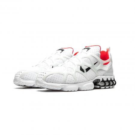 Tênis Nike x Stüssy - Air Zoom Spiridon Kukini Habanero Vermelho