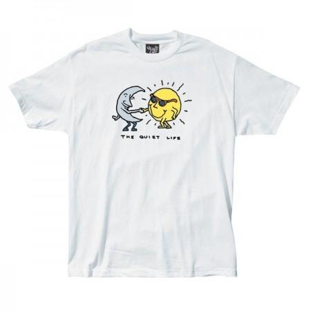 Camiseta The Quiet Life - Sun & Moon Branca