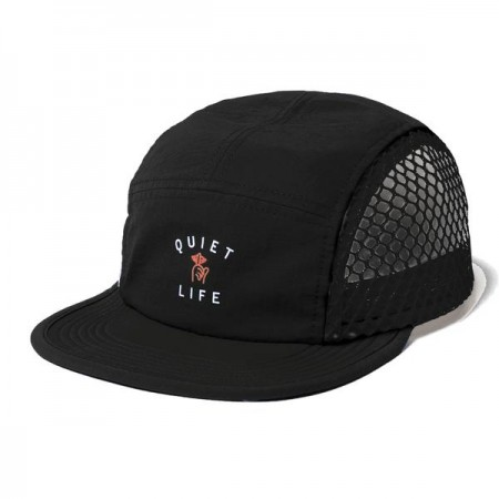 Boné 5 Panel The Quiet Life - Jumbo Mesh Camper Hat Preto