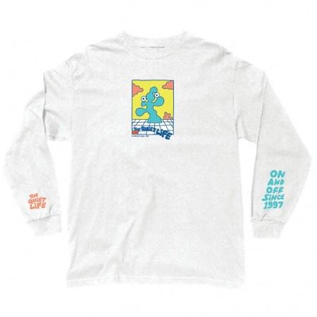 "Camiseta Manga Longa The Quiet Life ""Bryant"" Cinza"