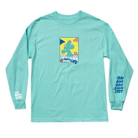 """Camiseta Manga Longa The Quiet Life """"Bryant"""" Verde"""