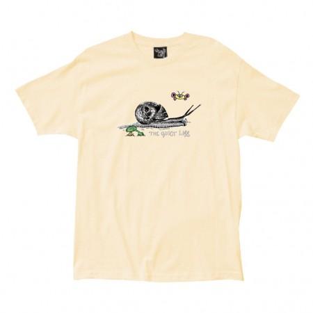 """Camiseta The Quiet Life """"Snail"""" Amarela"""