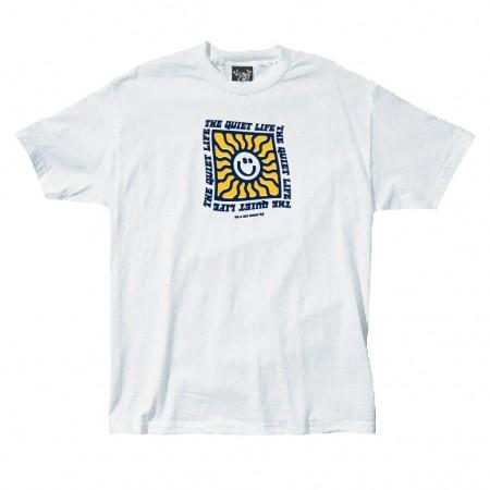 """Camiseta The Quiet Life """"Sunshine"""" Branca"""