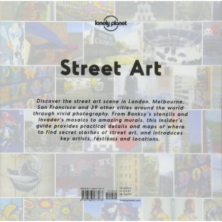Livro Street Art (Lonely Planet)