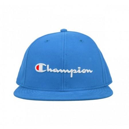 Boné Champion Aba Reta - Script Logo Baseball Azul