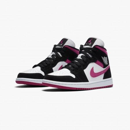 Tênis Nike - Air Jordan 1 Mid WMNS Black Cactus Flower