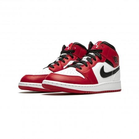 Tênis Nike - Air Jordan 1 Mid GS Chicago 2020