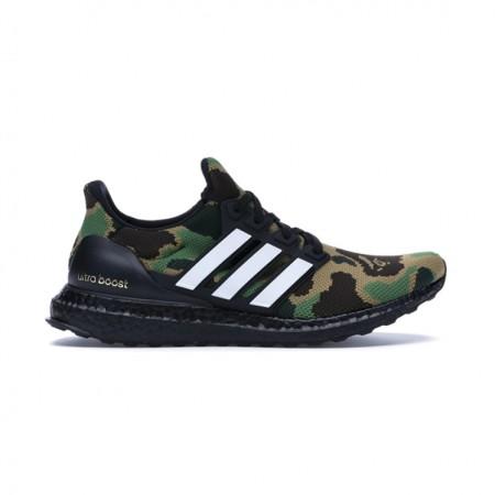 """Adidas Ultraboost x Bape """"Camo Green"""" (VNDS)"""
