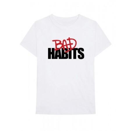 Camiseta Vlone x NAV - Bad Habits Branca