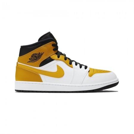 """Nike Air Jordan 1 Mid """"University Gold"""""""