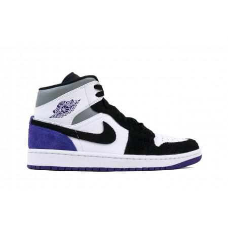 Tênis Nike - Air Jordan 1 Mid SE Varsity Purple