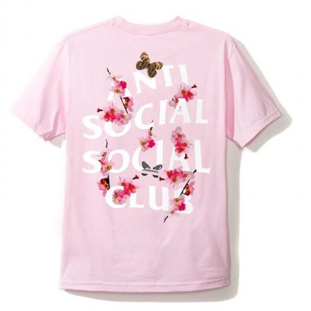 Camiseta Anti Social Social Club - Kkoch Rosa