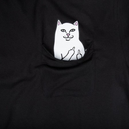 Camiseta RIPNDIP - Lord Nermal Pocket Tee Preta