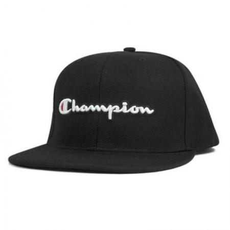 Boné Champion Aba Reta - Script Logo Baseball Preto