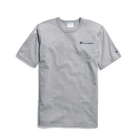 Camiseta Champion - Mini Logo Script Mescla