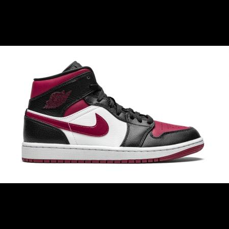 """Nike Air Jordan 1 Mid """"Bred Toe"""""""