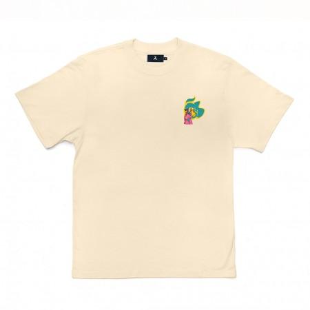 Camiseta à x Mina Mania Amarela