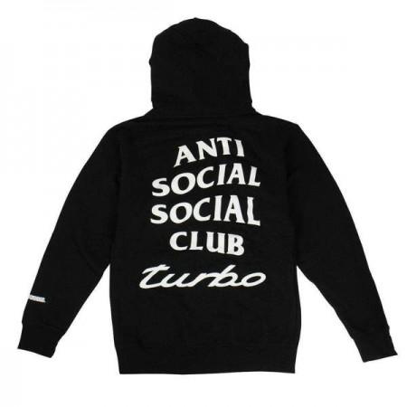 Moletom Anti Social Social Club x Neighborhood - 911 Turbo Preto