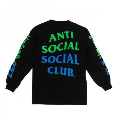Camiseta Manga Longa Anti Social Social Club x Pizza Bun Tire Delete (Japan Exclusive)