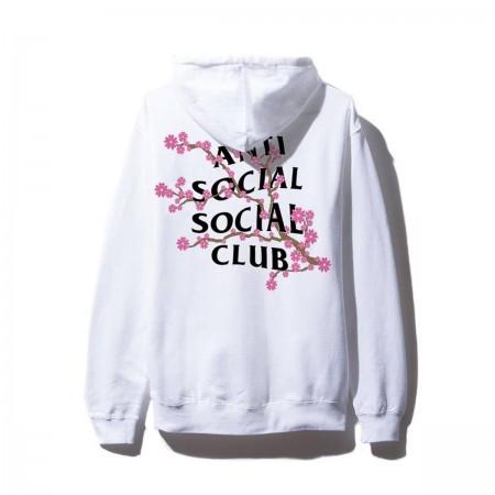 Moletom Anti Social Social Club - Cherry Blossom Branco
