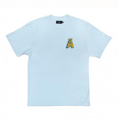 """Camiseta à Novos Artistas """"Kaio"""" Azul"""