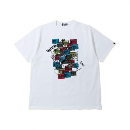 Camiseta Bape - 27th Anniversary Relaxed Tee Branca