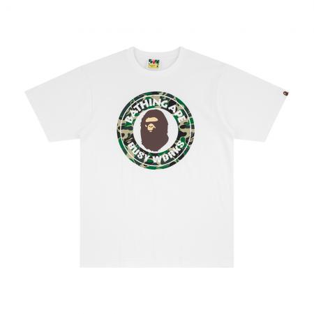 Camiseta Bape - ABC Camo Busy Works Branca
