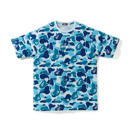 Camiseta Bape - ABC Wide A Bathing Ape Tape Azul