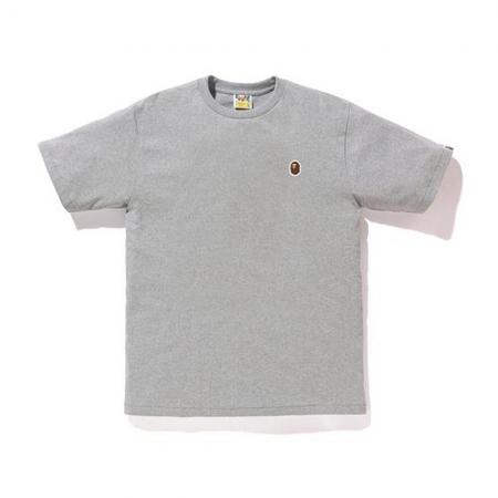Camiseta Bape - Silicon Ape Head One Point Cinza