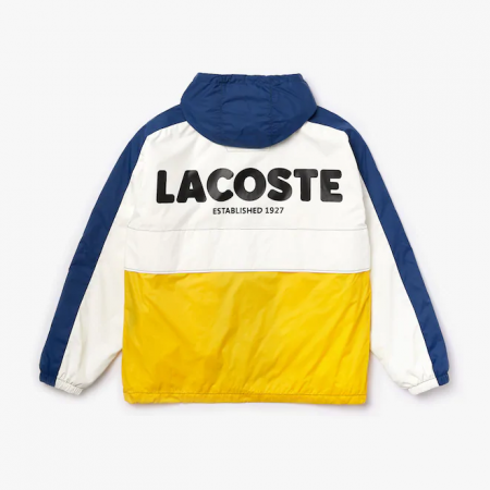 Jaqueta Lacoste - Zippered Colorblock Windbreaker