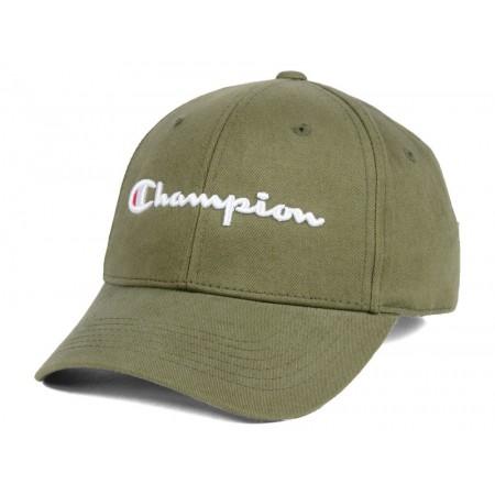 Boné Champion Dad Hat - Script Logo Verde