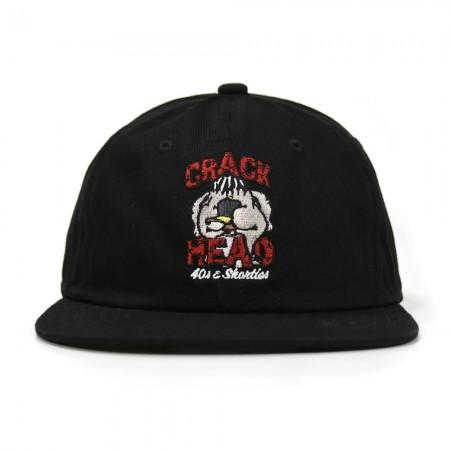 Boné 40's & Shorties - Crack Head Prto