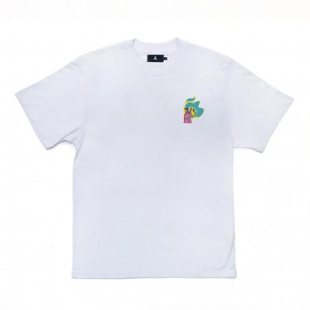 Camiseta à x Mina Mania Branca