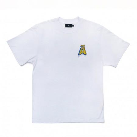 "Camiseta à Novos Artistas ""Kaio"" Branca"