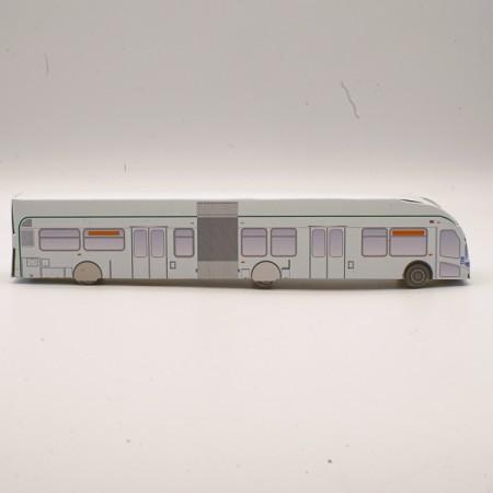 3D Paper Bus #622 Bus G