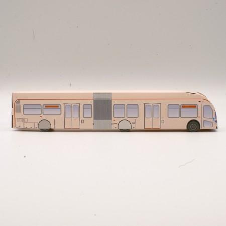 3D Paper Bus #624 Bus O