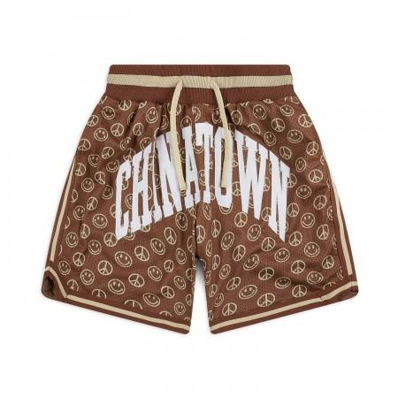 Shorts Chinatown Market - Smiley Cabana Marrom